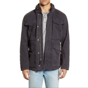 Men's Madewell Field Jacket : Off Black : Size XL